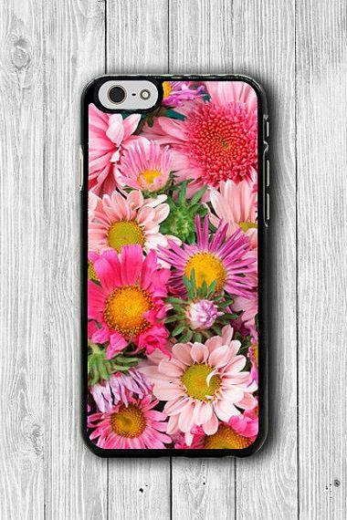 Beautiful Flower Floral Field Pink iPhone 6 Cases, Art iPhone 6 Plus Cover, Phone 5/5S, iPhone 4/4S Hard Case, Lovely Accessories HER Gift