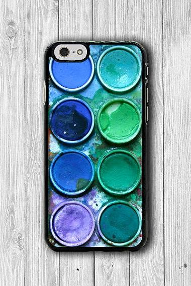 Watercolor Paint Box Art Color Set iPhone 6 Cases iPhone 6 Plus, iPhone 5/5S Case, iPhone 5C Case, iPhone 4/4S Case Printed Cell Phone Case#42